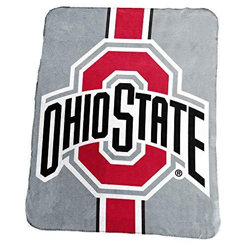 Logo Pro Ohio State Stripe Blanket