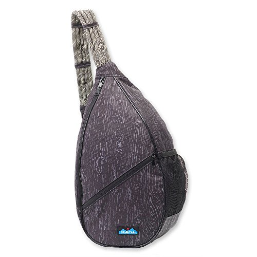 Canvas Teardrop Pack - KAVU Women's Paxton Pack Outdoor Backpacks, One Size, Black Oak