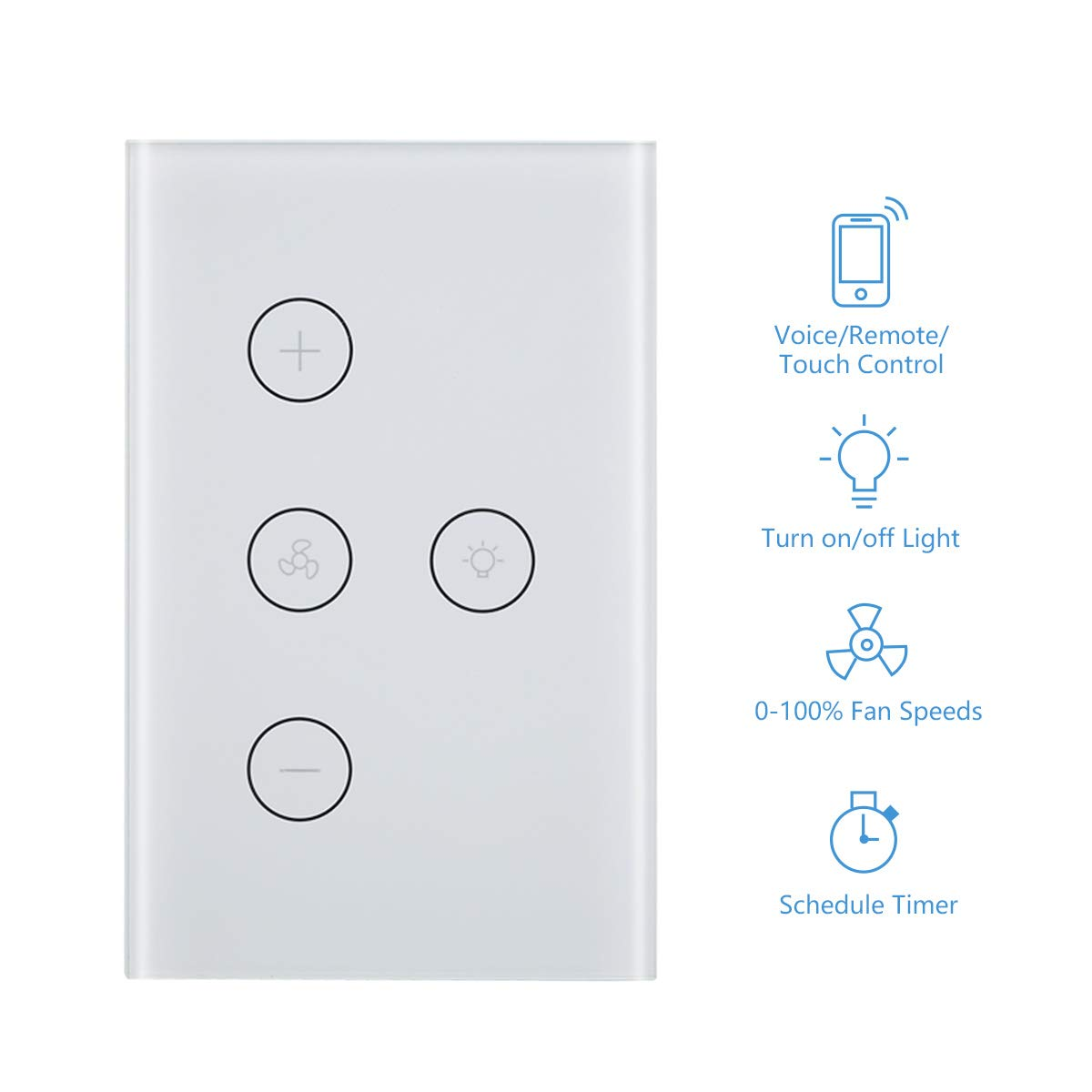 Smart Light Fan Switch
