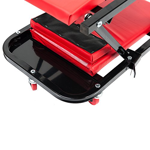 RTJ 47 Inch N-Creeper Seat with Adjustable Headrest, Red by RTJ (Image #4)