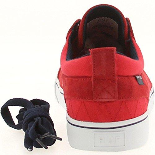 Huf Menns Ramondetta Pro Sneaker Rød Og Marineblå