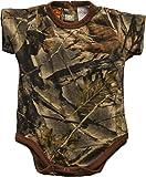 Trail Crest Infant Camo Undershirt- Body Suit, 0-3 Months W/ Magnet, Camo
