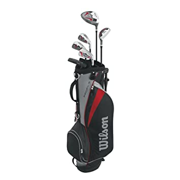 Amazon.com: Juego de golf completo Wilson Profile 2015 ...