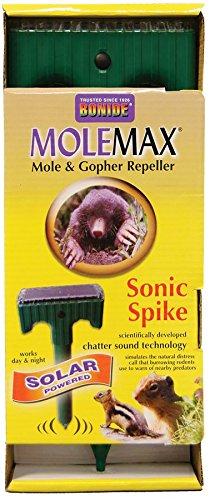 Bonide 61119 Solar Powered Molemax Sonic Spike
