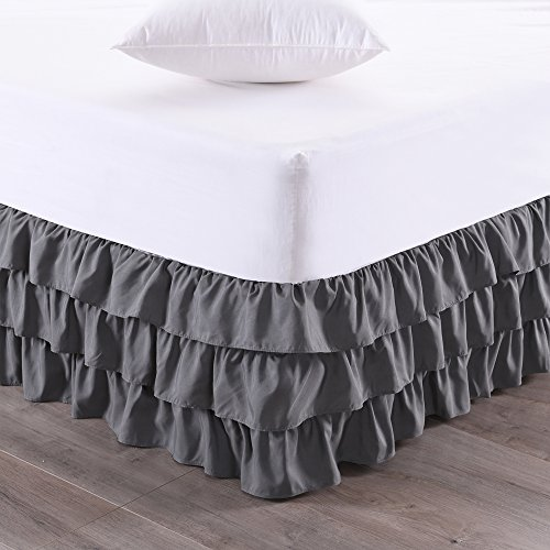 Sweet Home Collection Three Ruffled Tier Layer Design with 14