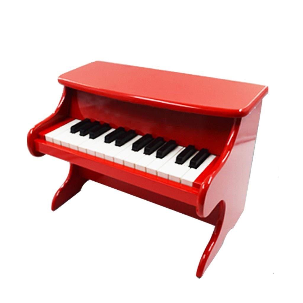 LIUFS-キーボード ピアノ子供のおもちゃ木製ピアノ幼児教育用楽器3-6歳25キーベンチ (Color 赤) : 赤) (Color B07RBQH5LS B07RBQH5LS, ヒラナイマチ:91a47180 --- harrow-unison.org.uk