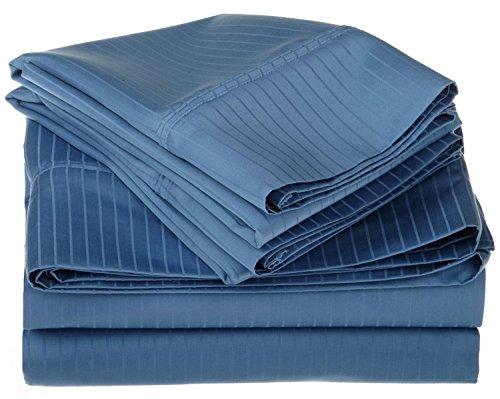 KM Linen 3 PC Duvet Cover Bedding Set { King Size } - 1 Piec