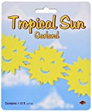 Tropical Sun Garland Party Accessory (1 count) (1/Pkg)