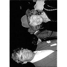 Vintage photo of Derek Robert Nimmo with his wife, smiling.