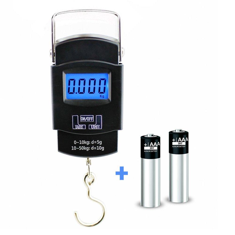 Electrónica Escala de pesca por sakana Gear Digital equilibrio escala con un gancho para colgar de acero inoxidable y mango de metal Mano Compacto Ligero ...