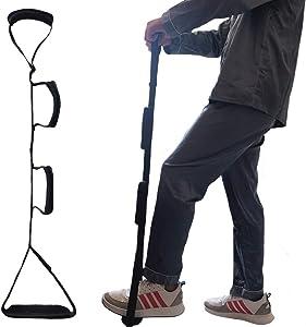 Fanwer Leg Lifter Strap(Multi-Loop Adjustable 35