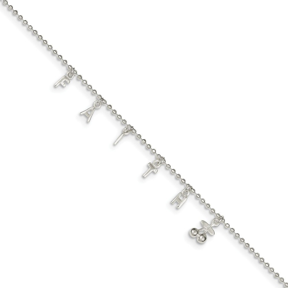 1.5mm Jewel Tie 925 Sterling Silver 10 with 1ext.