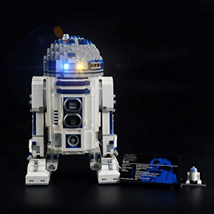 Amazon Com Lightailing Light Set For Star Wars R2 D2 Building Blocks Model Led Light Kit Compatible With Lego 10225 Not Included The Model Toys Games