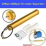 New 30Mpa High Pressure Air Filter 4500 psi PCP Compressor Oil Water Separator for High-pressure Air Compressor Air Pump