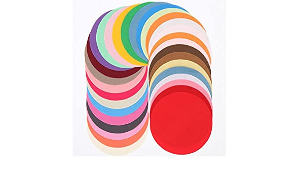 Lote de telas precortadas redondas lisas círculo 12,9cm Wa Circle de Lecien: Amazon.es: Hogar