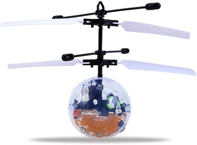 LDFANG Juguete De Bola Voladora De Inducción, Flash De Mini Drone ...