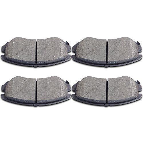 Brake Pads,ECCPP 4pcs Front Ceramic Disc Brake Pads Kits for 07-10 Hyundai Elantra,04-06 08-10 Hyundai Sonata,03-08 Hyundai Tiburon,05-09 Hyundai Tucson,03-10 Kia Optima,10-13 Kia Soul,Kia Sportage ()