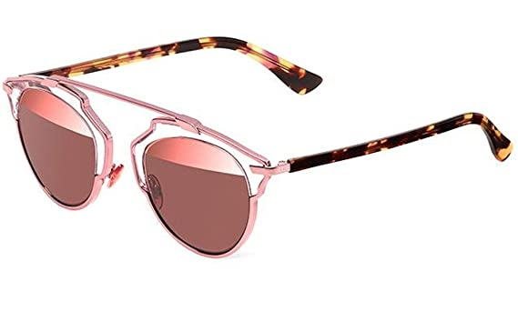 0b44b79e0623 Amazon.com  Dior So Real Sunglasses 48mm Light Pink KM98R  Clothing