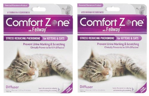 Comfort-Zone-with-Feliway-2-Pack-Cat-Diffusers