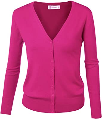 Comprar Cardigan básico con cierre de botones, para mujer Talla 38(ES)=X-Large