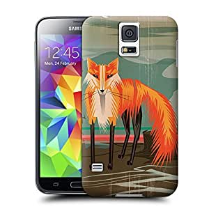Unique Phone Case Fox at Dawn poster Hard Cover for samsung galaxy s5 cases-buythecase