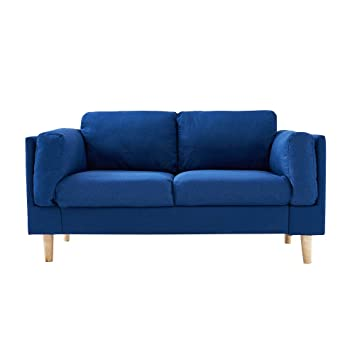 Anaelle Panana sofá de Esquina Sofa Moderno de Tela 2 Plazas ...