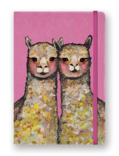 Studio Oh! DK001 Compact Deconstructed Journal, Pink Alpaca