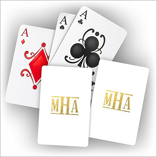 Monogram Personalized Playing Cards - 3995M by American Stationery