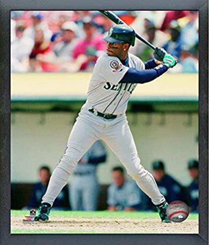 b56f448759 Image Unavailable. Image not available for. Color: Ken Griffey Jr. Seattle  Mariners MLB Action ...