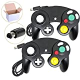 Poulep 2 Packs Classic Wired Gamepad Controllers for Wii Game Cube Gamecube Console (Black and Black) Review