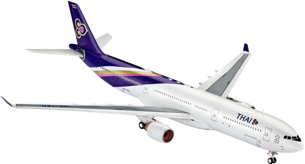 Revell 04870 - Modellbausatz - Airbus A330-300, Thai, im Maßstab 1:144