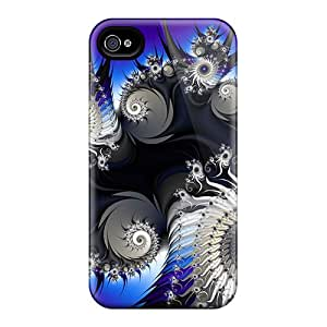 Shock Absorption Hard Phone Cover For Apple Iphone 4/4s With Provide Private Custom Attractive 3d Graphics 01 Series JohnPrimeauMaurice