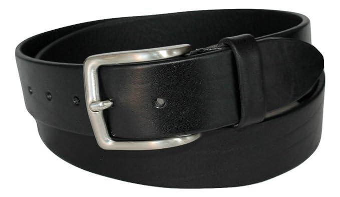 prezzo competitivo 9bad5 355b2 Cintura in Cuoio Nera, Alta 4cm, Uomo, Donna, Vera Pelle ...
