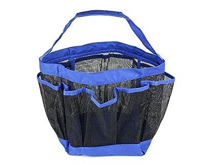 Shower Caddy (8) Pocket Waterproof Mesh Storage Organizer Bage