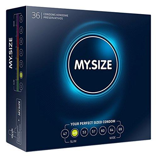 70 opinioni per My.Size- Profilattici, 49 mm, 36