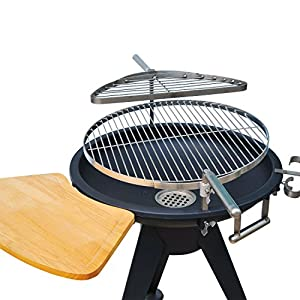 "Outsunny 22"" Round Outdoor Charcoal Barbeque BBQ Grill"