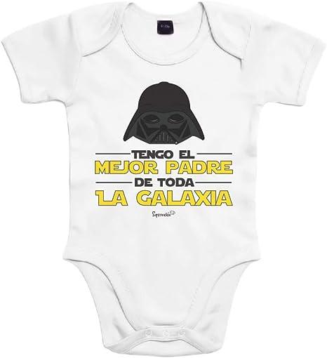 SUPERMOLON Body bebé algodón Tengo el mejor padre de toda la ...