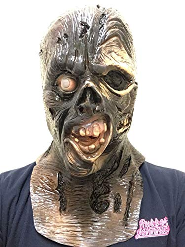 Rubber Johnnies Rotting Hood Jason VII Mask, Adult, Full Head, One Size]()