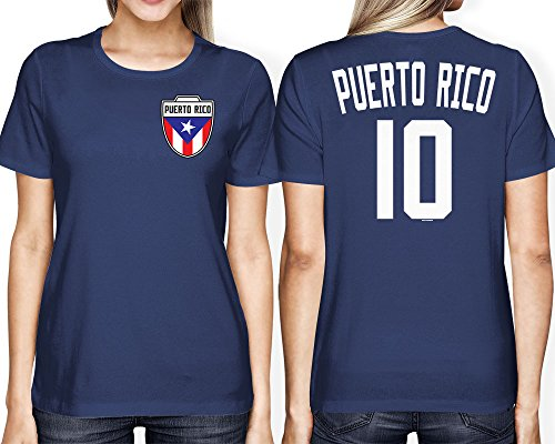WOMENS Puerto Rico Football T shirt