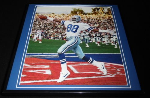 Michael Irvin Framed - Michael Irvin Framed 12x12 Poster Photo Cowboys Super Bowl XXVII TD