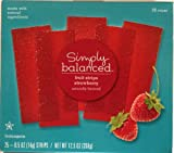 2 Pack - Simply Balanced Natural Strawberry Fruit Strips 25 ct