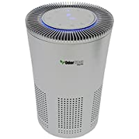 OdorStop OSAP5-5-in-1 Air Purifier with H13 HEPA Filter, UV, Active Carbon, Ionizer and Pre-Filter (Silver Grey)