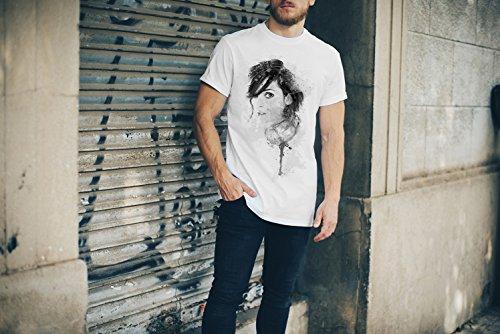 Winona Ryder I T-Shirt Herren, weiß mit Aufdruck