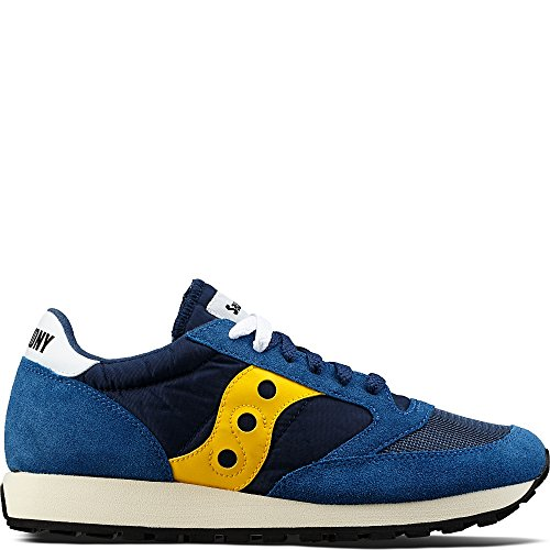 Bleu Jazz Baskets Original Vintage Homme blue Yellow Saucony q1zXwdz