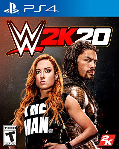 WWE 2K20 - PlayStation 4 from 2K GAMES