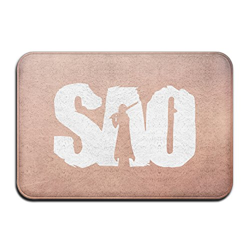 Sword Art Online Logo Nonslip Doormat 2416inch White