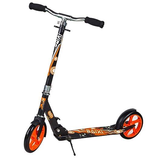 LJHBC Patinete Plegable Scooter de Pedal for Adultos Altura ...