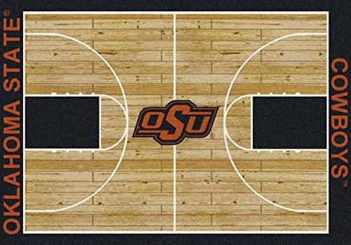 (Oklahoma State Cowboys NCAA Area Rug - Home Court (7'8