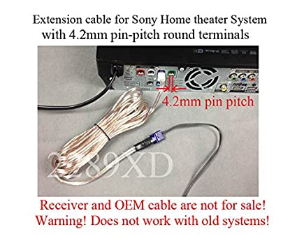 Amazon.com: 20ft speaker extension cable/wire/cord for Sony Home ...