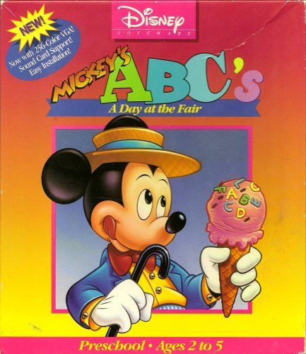 Disney Mickey's ABC A day at the (Mickey Mouse Computer Game)